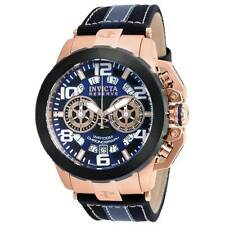 Swiss Made Invicta 20491 Reserve Nitro Chronograph Rose Gold Plated Men's Watch