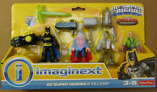 IMAGINEXT DC Super Friends DC SUPER HEROES & VILLAINS ~ Superman, Metallo, Lex +