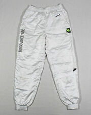 90S VTG NIKE CHALLENGE COURT WHITE JOGGER PANTS WINDBREAKER AGASSI OG AIR MAX