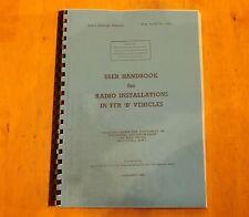 User handbook for Radio Installations in FFR 'B' Vehicles.Austin Champ.Larkspur.