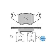 MEYLE 20889 Brake Pad Set, disc brake MEYLE-ORIGINAL Quality 025 208 8917