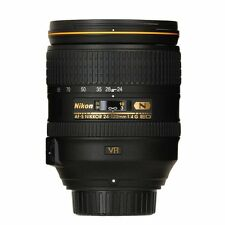 Nuovo di Zecca Nikon Nikkor AF-S G ED VR 24-120 mm f/4.0 LENS in Whitebox +77mm UV UK