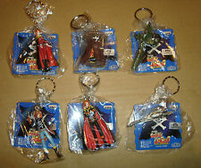 CAPITAN HARLOCK FIGURE KEY HOLDER SET COMPLETO 6 PZ BANPRESTO 1998 ARCADIA