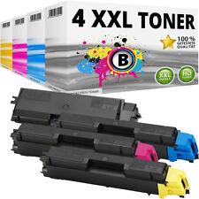 4x XL TONER PATRONE für Kyocera Mita FS-C5150DN Toner-patrone kassette TK-580
