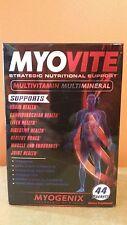 Myogenix MYOVITE Nutritional Support Multivitamin Multimineral 44 PACKETS