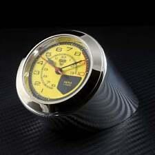 Rev Counter Desk Clock Ferrari Classic Yellow