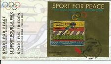 United Nations 2008 - Sport For Peace FDC - First day cover