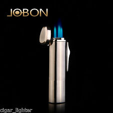 Jobon Windproof Triple Jet Torch Lighter Gas Refillable Cigar Cigarette Lighter
