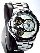 Elgin Man Silver-tone, Automatic  Sport Watch, FG9058