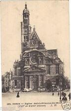 75 - cpa - PARIS - Eglise Saint Etienne du Mont