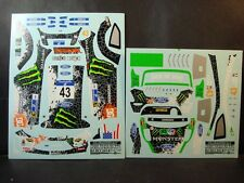 DECALS 1/24 FORD FIESTA RS WRC #43 K.BLOCK MEXICO 2012  - COLORADO  24141