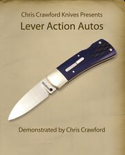 Lever Action Autos with Chris Crawford (DVD) /bladesmithing / knifemaking