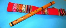 PROFESSIONAL RAMOS  BAMBOO   FLUTE QUENA  FROM PERU-ITEM IN USA -  CASE INCLUDED