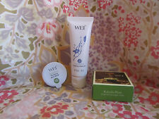 WEI 3 pc SET: Foaming Cleanser~ Kakadu Plum Sugar Mask~Purifying Mud Mask~FRESH!