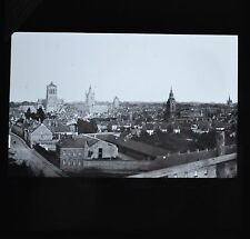 Magic Lantern Slide Photo Belgium Ypres Pre WW1 Panorama Newton & Co