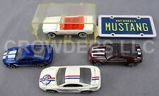 Hot Wheel Ford Mustang Convertible GT Concept Shelby GT500 & Matchbox 99 Hardtop
