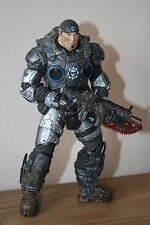 "GEARS OF WAR ACTION FIGURE - MARCUS FENIX - NECA - WITH LANCER - 7"" TALL"