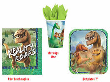 Disney The Good Dinosaur Table Ware Party Pack of 32 pcs ~ Plates,Cups & Napkins