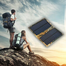 6W 5V 1A Portable Solar Panel Charger for Cell Phones and Tablet Pads, Foldable