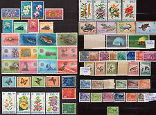 INDONESIA - Flora, Fauna, Sport - Lot of 13 issues - MNH ( see notes )