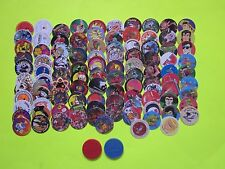 Lot of 100 All Different w/2 Slammers POGS
