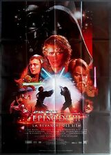 2005 STAR WARS EPISODE 3 REVENGE OF THE SITH 47x63 French movie poster