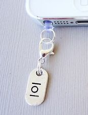LOL cell phone Charm Tag Dust proof Plug ear jack For iPhone smartphone C146