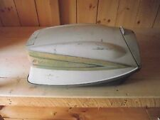 AL1C3637 1960's Vintage Evinrude Outboard Big Twin Cowl Hood Engine Cover