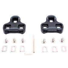 VINQLIQ 9 Degree Cycling Self-locking Plate Pedal Cleat Set Delta SPD-SL Float