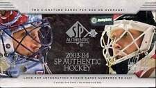 2003-04 (2004) Upper Deck SP Authentic Hockey Factory Sealed Hobby Box
