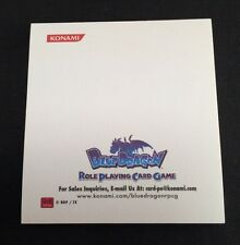 Konami Blue Dragon RPCG Post It Notes Role Playing Card Game Promotional Item