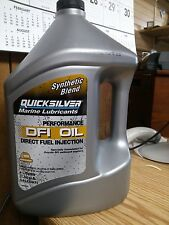 Quicksilver MarineLubricant DFI Oil Synthetic Blend 1.06gallons 92-858037Q01