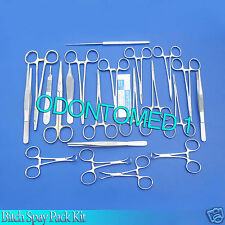 BITCH SPAY PACK KIT Surgical Veterinary Instrument