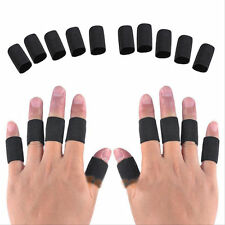 10Pcs Elastic Finger Sleeve Support Protect Outdoor Sport Volleyball Basketball