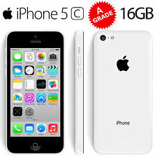 Apple iPhone 5C 16GB - WHITE - UNLOCKED - Grade AA++ Excellent Condition