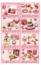 RE-MENT Minnie Lovely Cake Shop, Full #1-8, 1:6 scale Barbie kitchen food mini