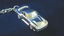 Schlüsselanhänger Porsche 911 959 versilbert    5088
