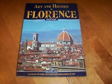 ART AND HISTORY OF FLORENCE Italian Master Italy Architect Arts Softcover Book