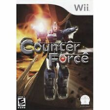 Counter Force Nintendo Wii Game  Brand New - In Stock - Fast Ship