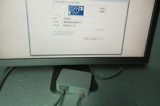 "Apple 20"" Aluminum DVI Cinema Display Monitor Power Adapter 65W 661-3760 A1096"