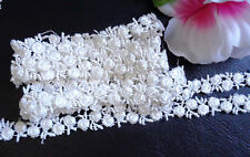 "embroidered  1/2"" inch wide Venise Lace trim  selling by the yard( select color)"