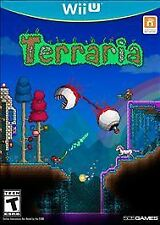 TERRARIA WiiU Nintendo 2016 ADVENTURE NEW SEALED VIDEO GAME Like Minecraft