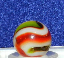 #19di Vintage Peltier NLR Burnt Christmas Tree Marble .60 Inches *Mint*