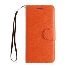 Fashion PU Leather Wallet Cards Holder Stand Flip Case Cover For iPhone series