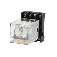 New MK2P-I AC 220V Coil 8Pin DPDT Power Relay with Plug-in Terminal Socket