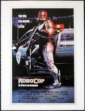 ROBOCOP 1987 FILM MOVIE POSTER PAGE . EDWARD NEUMEIER . E8