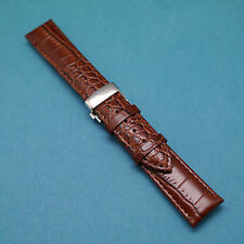Replacement Watch Strap Band With Butterfly Deployant Clasp for All 18 19 20 21