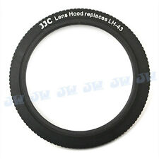 JJC Metal LENS HOOD SHADE ADAPTER FOR OLYMPUS 25MM F/2.8 ED ZUIKO LENS AS LH-43