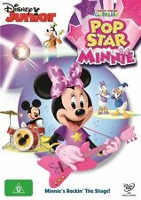 Mickey Mouse Clubhouse: Pop Star Minnie NEW R4 DVD