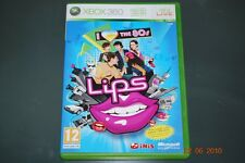 Lips I Love the 80s Xbox 360 UK PAL Game **FREE UK POSTAGE**